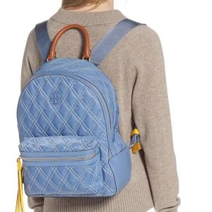 TORY BURCH Perry Quilted Nylon Backpack